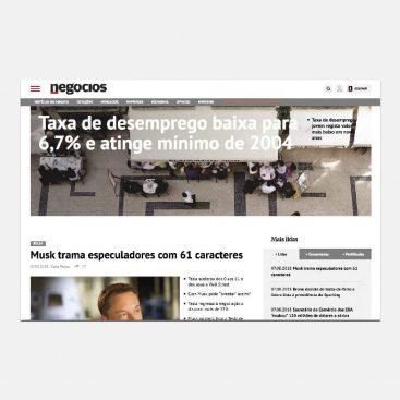 Jornal de Negócios, Informação, Notícias, PME, Webtexto