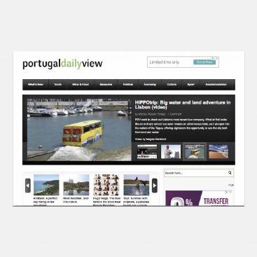 Portugal Daily View, Produção de informação, Notícias, Projetos