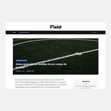 Field App, Content Marketing, Projeto
