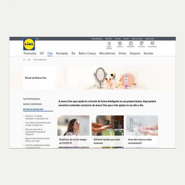 Lidl, Projetos, Content Marketing